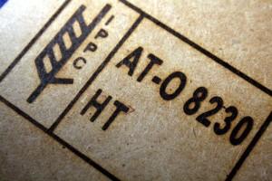 IPPC Brennstempel - Abdruck