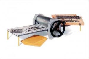 Schablonenstanzmaschine MARSH XL