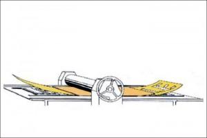 Schablonenstanzmaschine MARSH XL - Funktionsweise