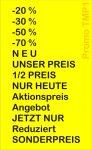 Preisauszeichner Blitz Promo TMP1 Texte