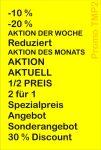 Preisauszeichner Blitz Promo TMP2 Texte
