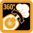 Bostitch-360-Luftauslass-Symbol