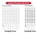 Konfiguration Contact Premium 26x16-14