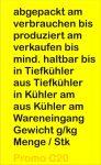 Preisauszeichner Blitz Promo C20 Texte