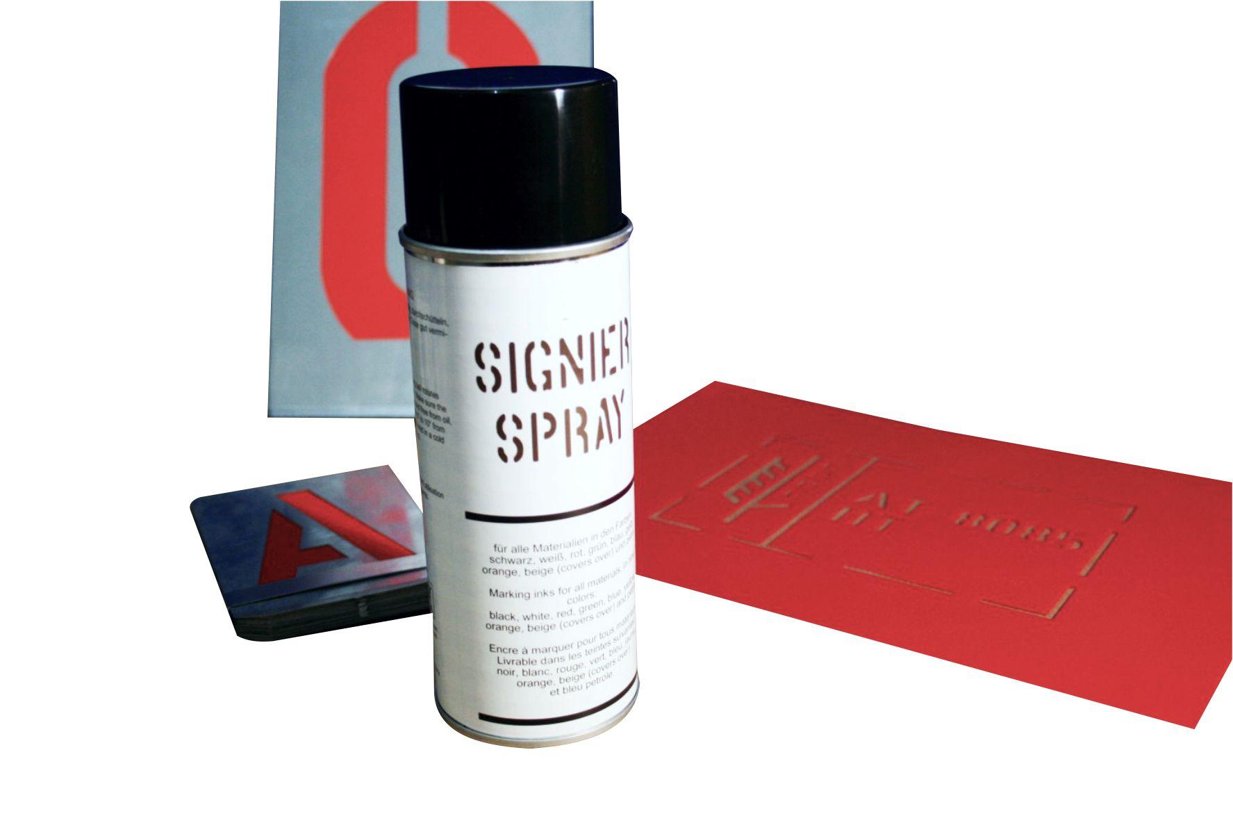 Spray Schablone